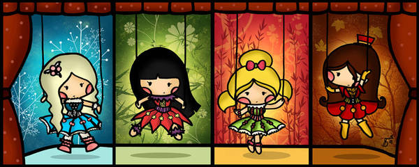 The Four Seasons Marionettes by cippow25