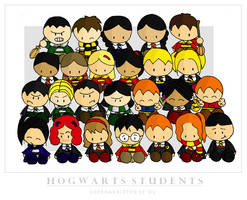 Hogwarts Students by cippow25