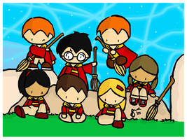 Gryffindor Team Wallpaper by cippow25