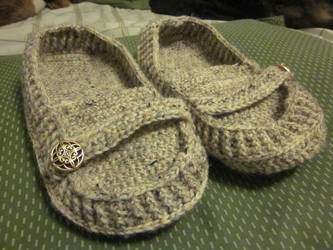 Men's Slippers by PamGabriel