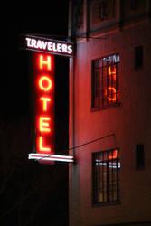 Travelers Hotel by robotdreams
