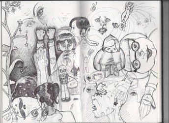 Sketch Journal Brain Dump by NeedsMoreKetchup