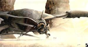 sf starship by jGospodarek