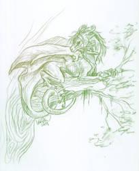 Tree Dweller by Khezix