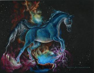 Paint Me the Galaxy by Khezix