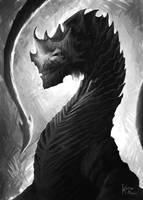 Black Dragon by kerimakyuz
