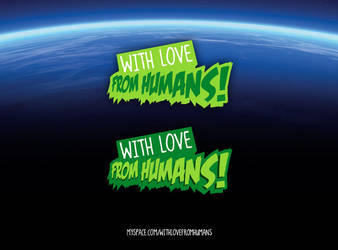 With Love From Humans Logo by 54NCH32