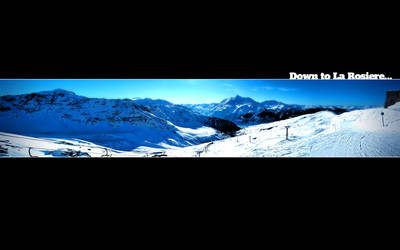 Down to La Rosiere by 54NCH32
