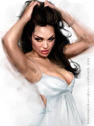 Angelina Jolie 2 by simonhayag