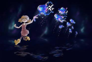 Jellyfish Parade by Vaidilute