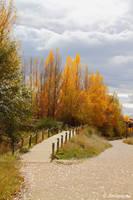 Two autumn tracks... by Jorapache