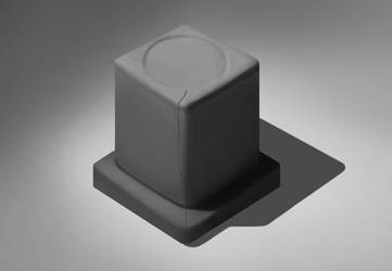 Cube Study by Manroose