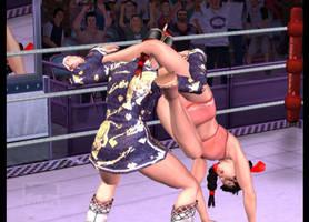 Rumble Roses Aigle vs Great Khan (9) by tousato