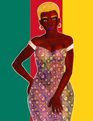Miss Cameroun by archangeraguel