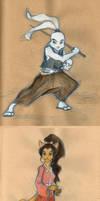 Usagi Yojimbo Fanart by jojoSCAD