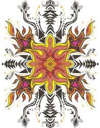 FlamingSnoflake by GraveUnicorn