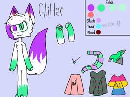 Glitter new ref again by BrokenGlitter