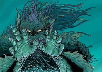 merman colour by gaudi3000