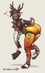Tracer Reindeer TF by Tail-Blazer