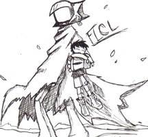 FLCL by Knives-vermillion