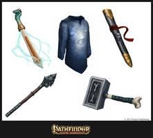 Pathfinder: Magical Marketplace illust II by CavalierediSpade