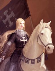 Crusader knight by CavalierediSpade