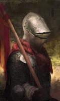 Red Knight by CavalierediSpade