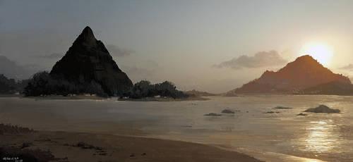 Beach by CavalierediSpade