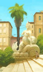 Town by CavalierediSpade