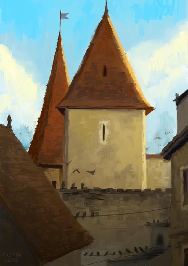 Chateau by CavalierediSpade