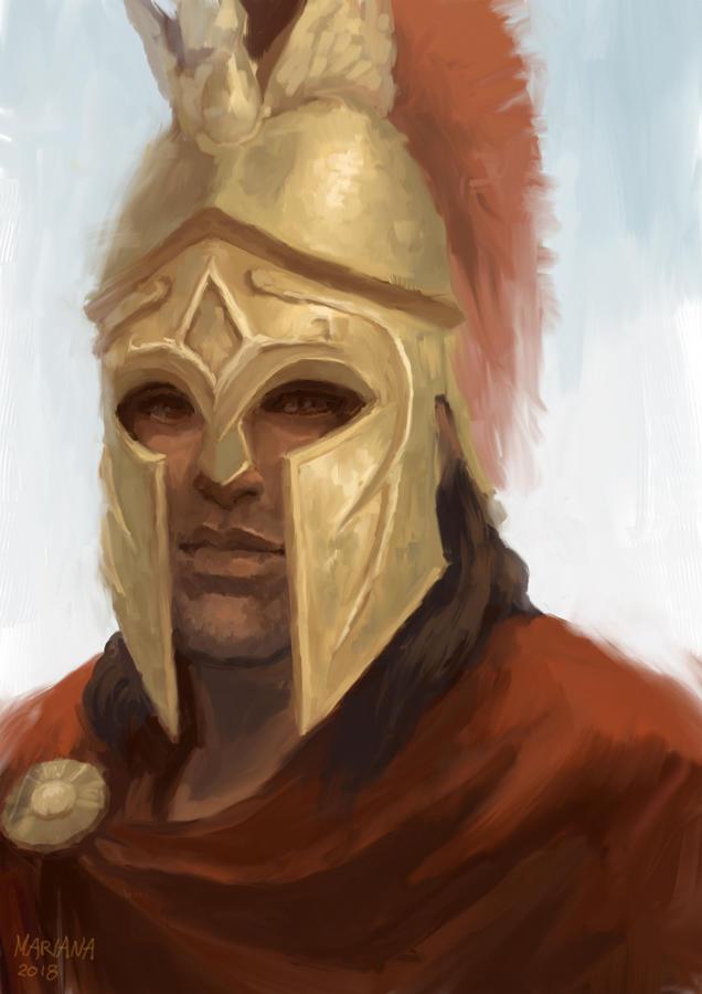Alexios portrait by CavalierediSpade