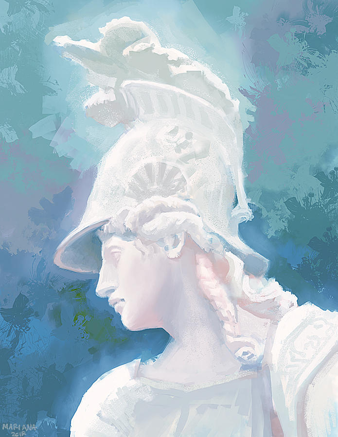 Athena by CavalierediSpade