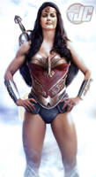Wonder Woman-Lynda Carter Jeff Chapman Edit #2 by Mithras-Imagicron