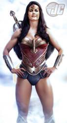 Wonder Woman-Lynda Carter Jeff Chapman Edit #2 by Mithras-Imagicron