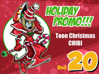Christmas Theme Chibi Toons Promo (OPEN) by Kraus-Illustration
