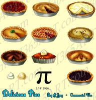 Random Pies Clipart by Peipei22