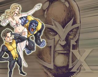 X-Men: First Class by Yeocalypso