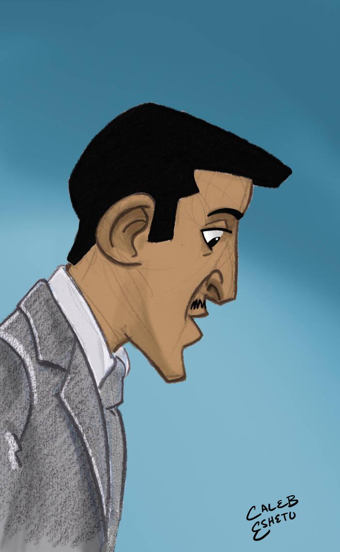 Sammy Davis Jr. by Caleb-Eshetu