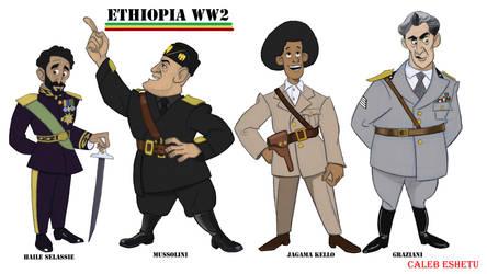 Ethiopia WW2 by Caleb-Eshetu