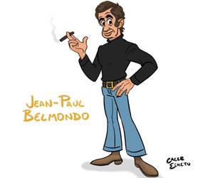 Jean-Paul Belmondo by Caleb-Eshetu