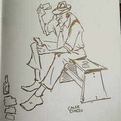 Wildcard (figure drawing CTN sketch FEVER)) by Caleb-Eshetu
