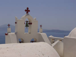 Greek memories: church by ghostofhufflepuff