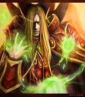 Warcraft 3- Kael'thas by May-dari