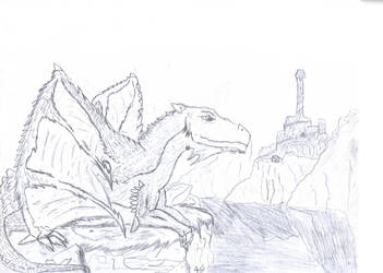 Ceredrodis, The Young Dragon. by DeviantDemyx