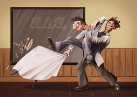 Maniobra Heimlich by artcova