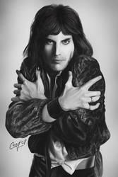 Freddie Mercury by artcova