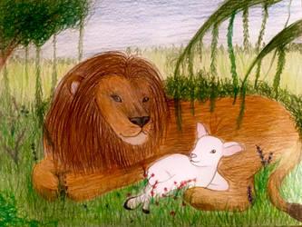 MDYK - Heaven's Perfect Lamb by TheHunterOfEvil