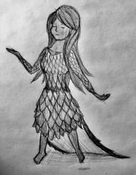Raven's human form by TheHunterOfEvil