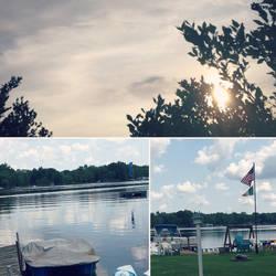 Lakeside - photo collage by TheHunterOfEvil