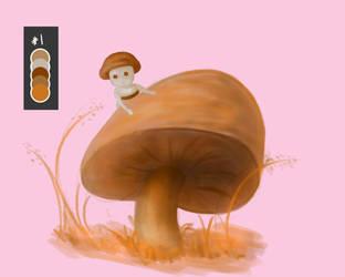 Duei The Mushroom by TheHunterOfEvil